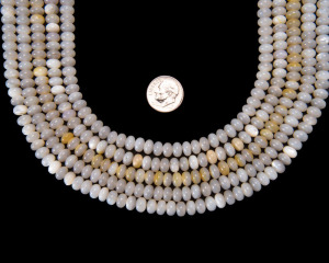 Mother of Pearl Rondell 7mm