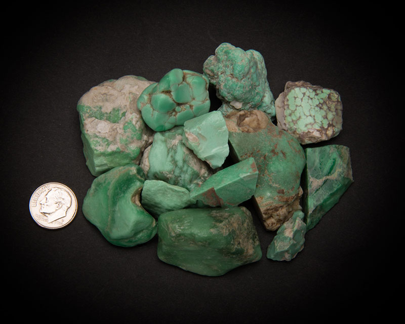 The Trade Roots Collection Utah Green Variscite