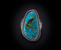 The Trade Roots Collection Alber Jake Blue Gem Turquoise