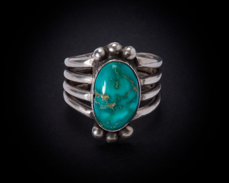 Unknown Artist Easter Blue Turquoise