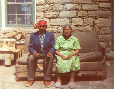 My Adopted Hopi Grandparents ca.1975